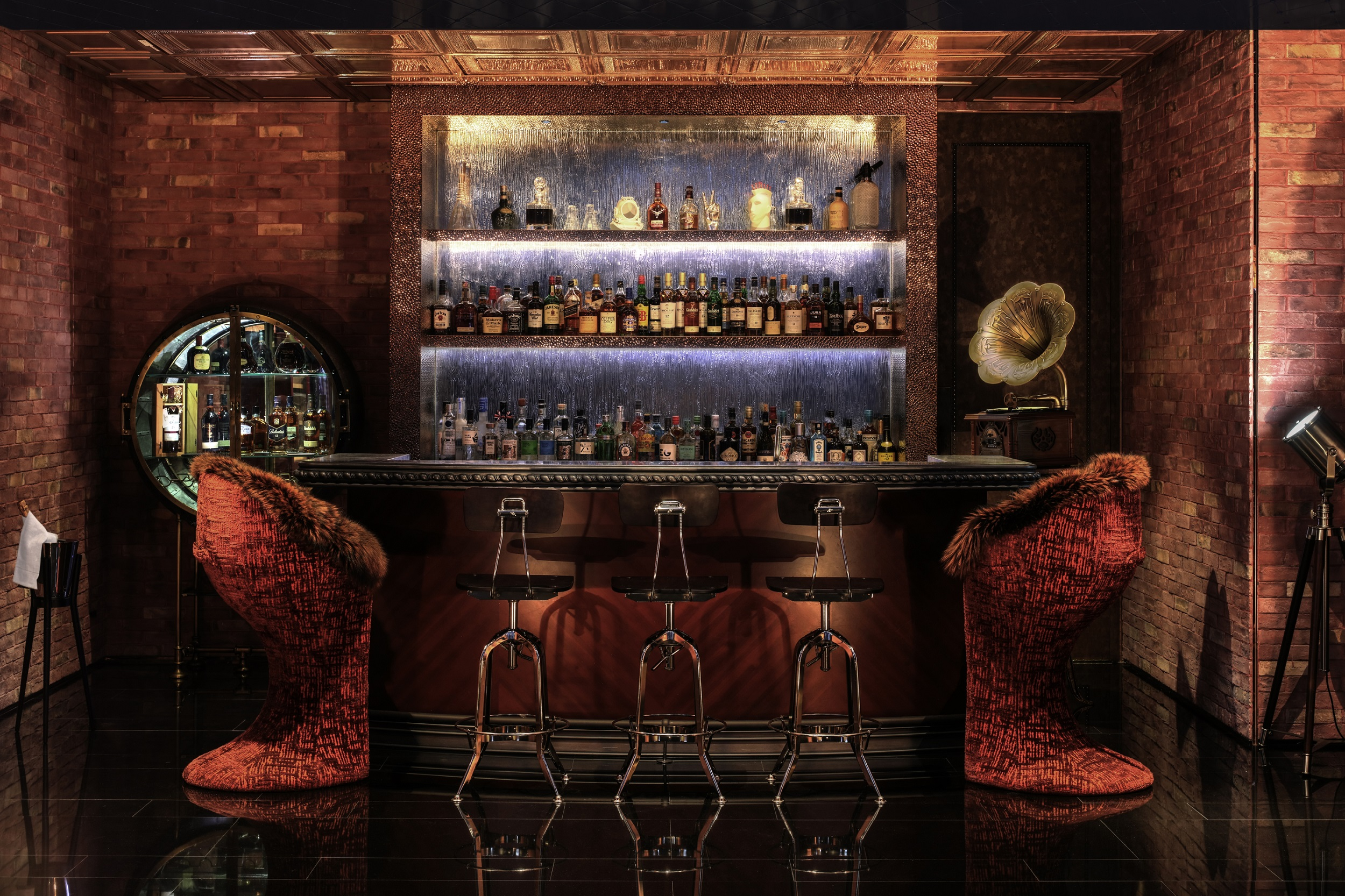 Flashback Speakeasy Bar at Paramount Hotel Dubai