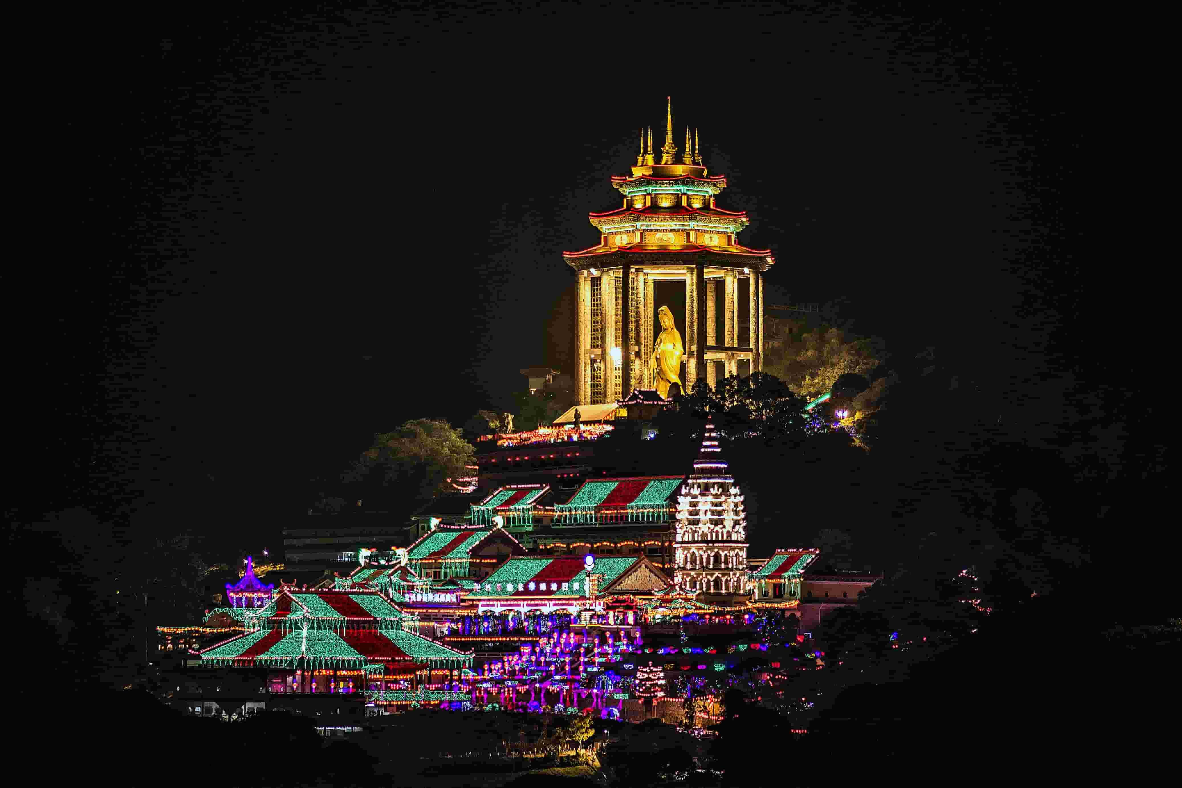 Kek Lok Si Temple, Chinese Temple in Penang