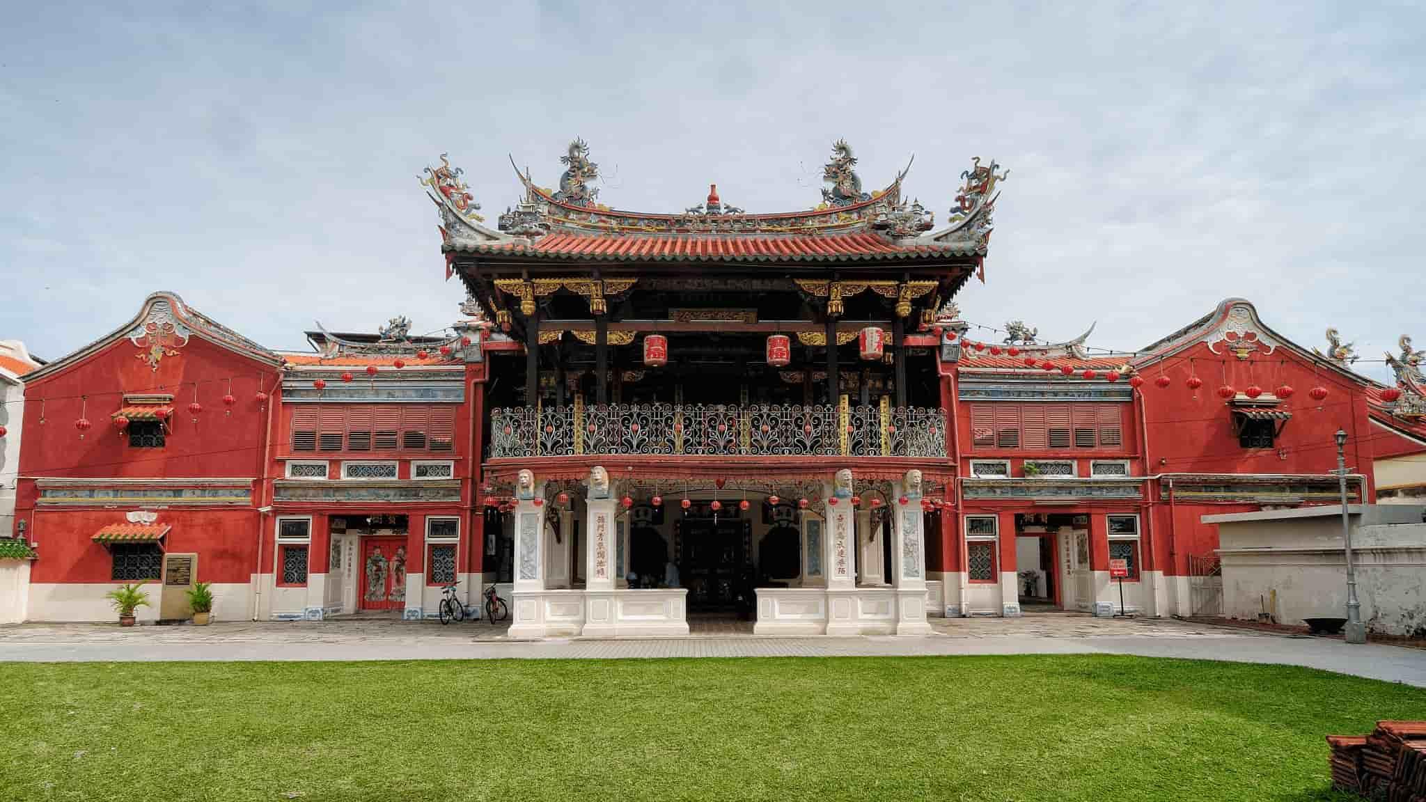 Cheah Kongsi, Chinese Temple in Penang