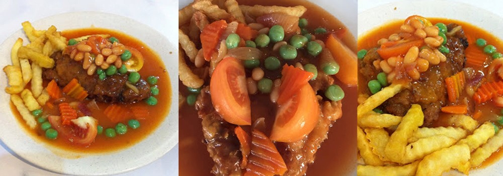 Hainanese Chicken Chop, must try food near Sunway Hotel Seberang Jaya, Penang