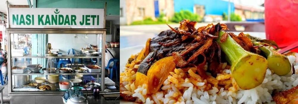 Nasi Kandar Jeti, must try food near Sunway Hotel Seberang Jaya, Penang