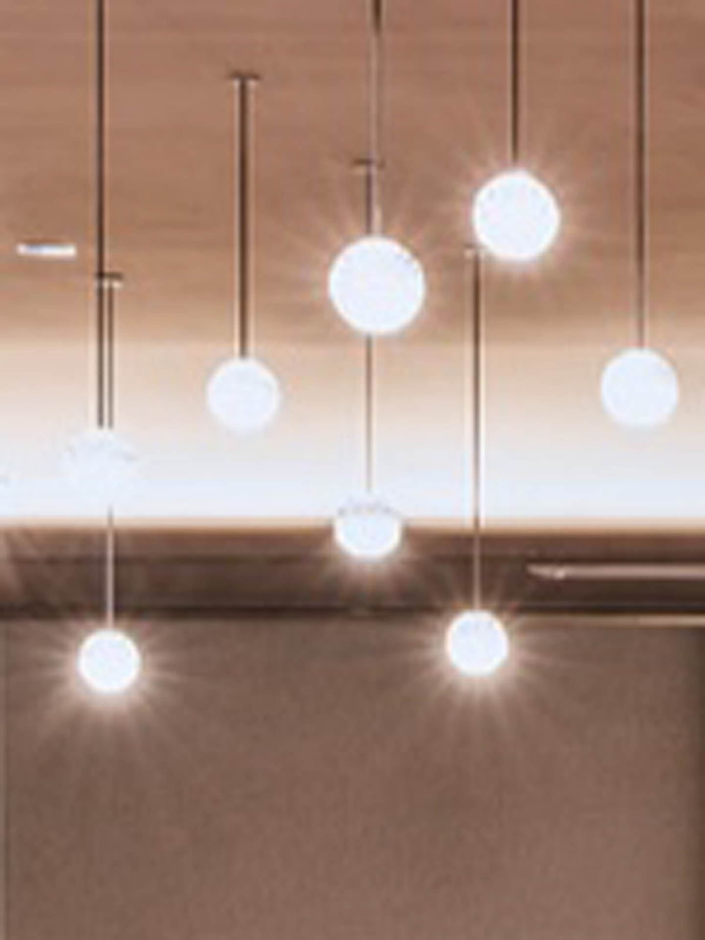 Meeting and event room lights at Almanac Barcelona