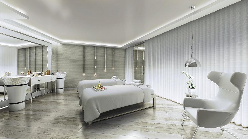 Pause Spa Treatment Room at Paramount Hotel Dubai