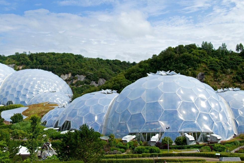 Eden Project St Austell Cornwall