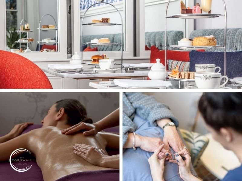 spa treatments and cream teas at The Cornwall Hotel