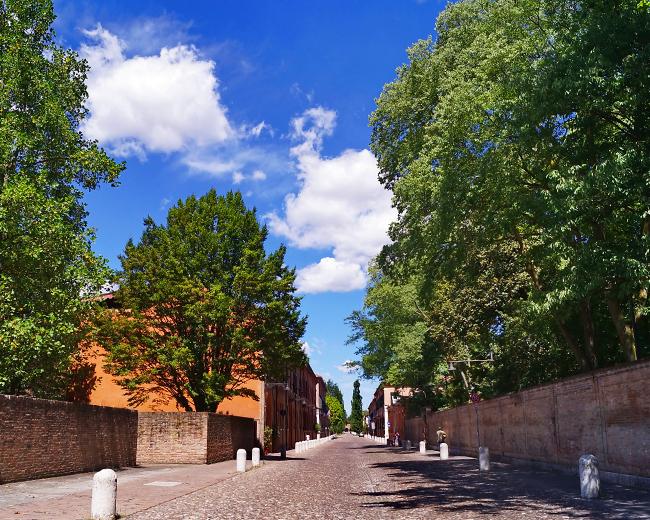 Corso Ercole I D'Este - Ferrara