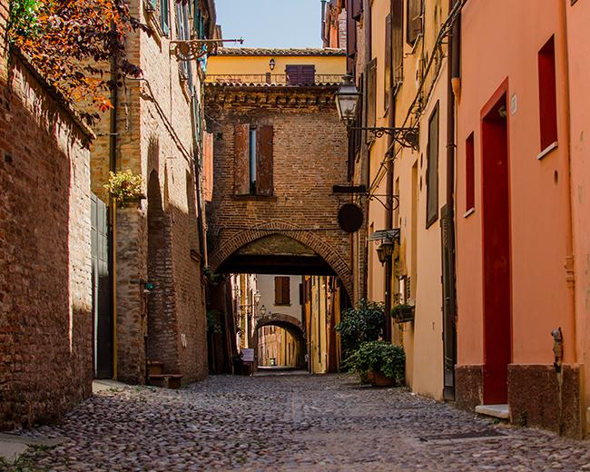Via Delle Volte - Ferrara