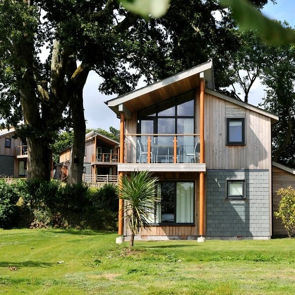 self catering lodge at The Cornwall St Austell