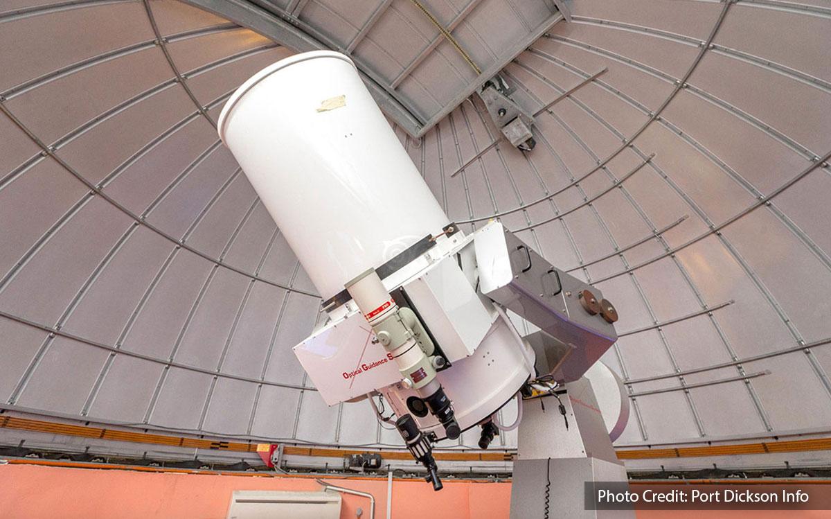 telescope of teluk kemang observatory port dickson