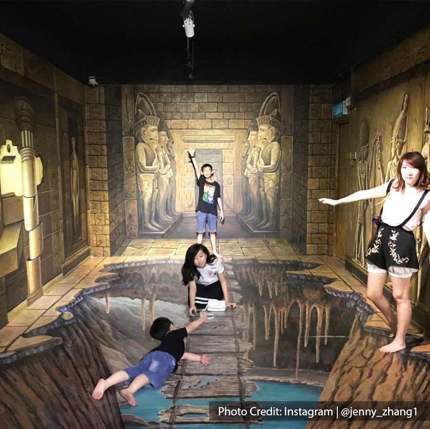 unleash creativity with fun poses at alive 3d art gallery port dickson
