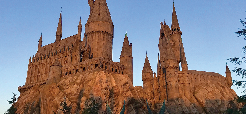 Hogwarts Universal Studios Hollywood