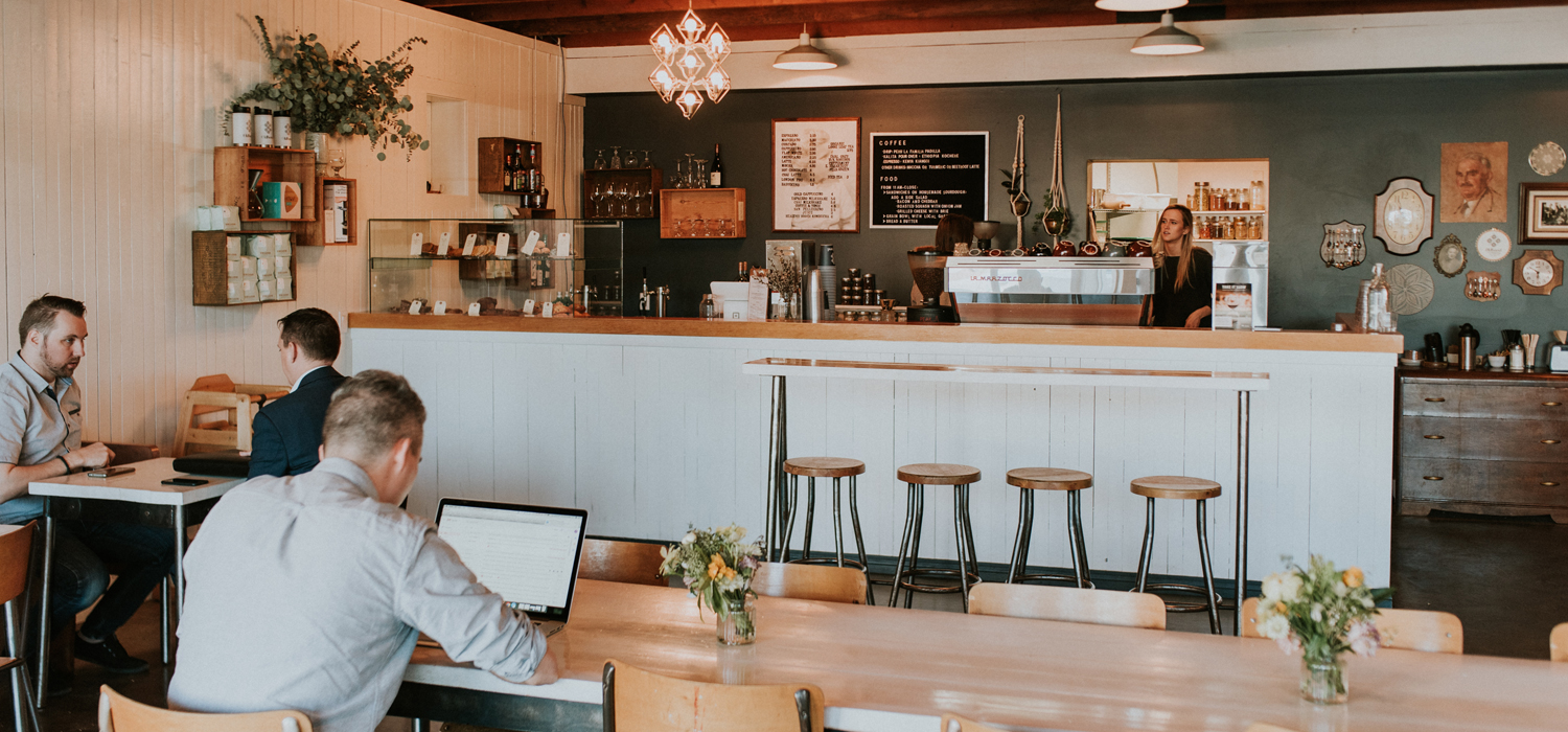 inside view of offhand coffee