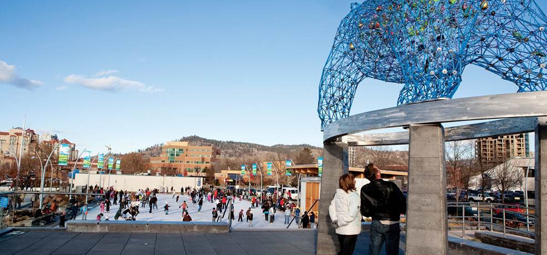 Stuart Park ice rink