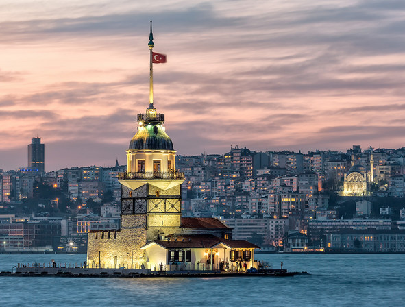Maiden's Tower general view at Wow Hotels Group