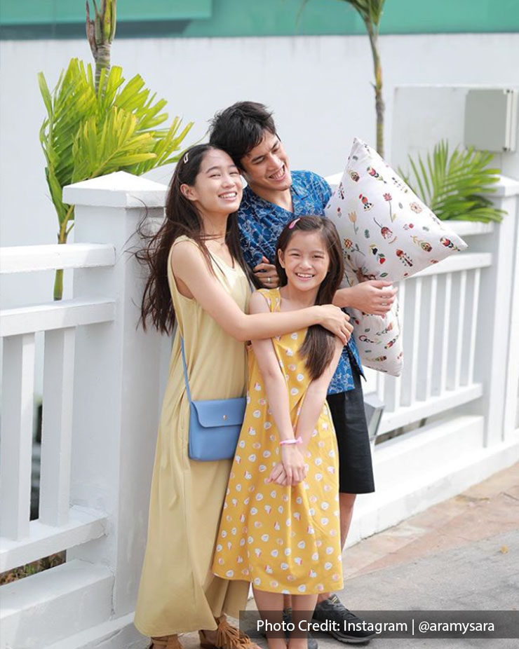 family enjoying time together in Malaysia's Lexis beach resort