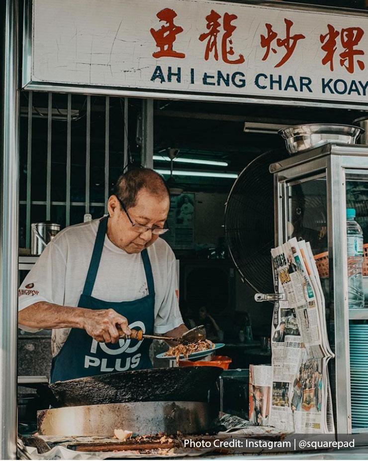 Penang has many delicious local street food and treats.