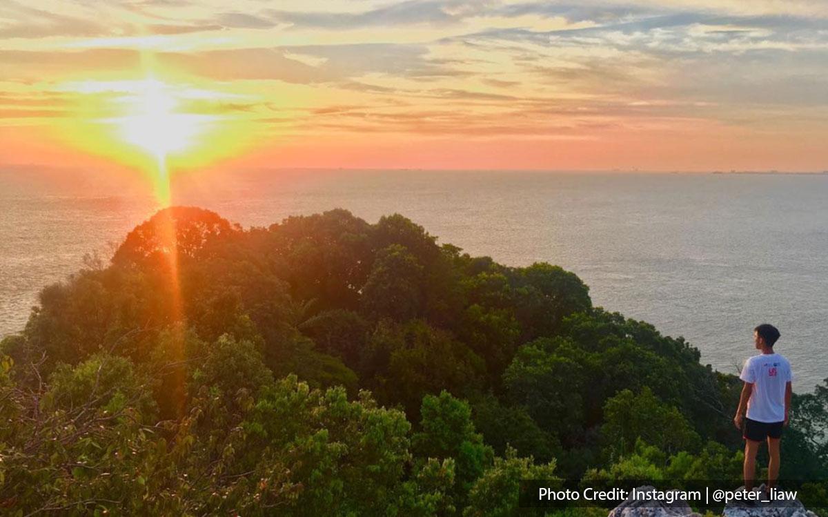sunset bukit batu of tanjung tuan port dickson