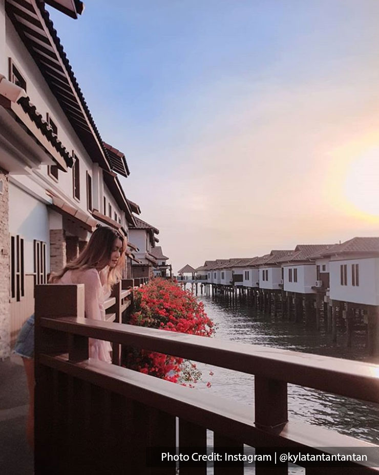 Peaceful Balinese-inspired water villa at Grand Lexis Port Dickson