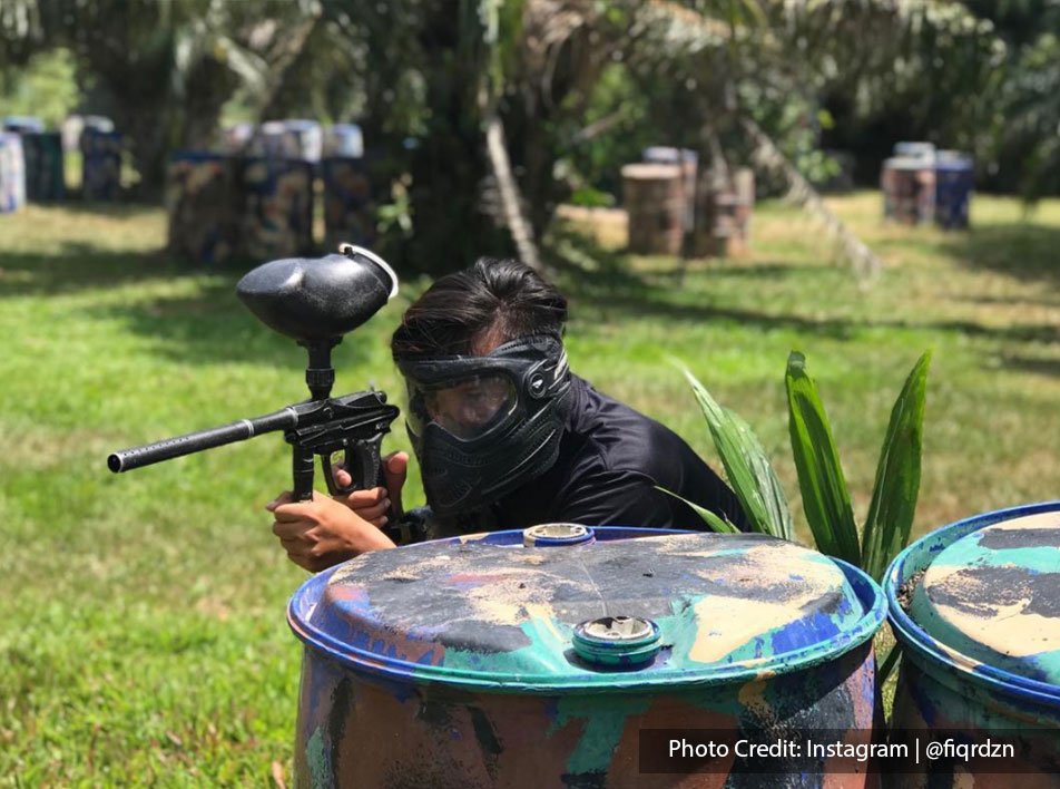 paintball war game at extreme park port dickson