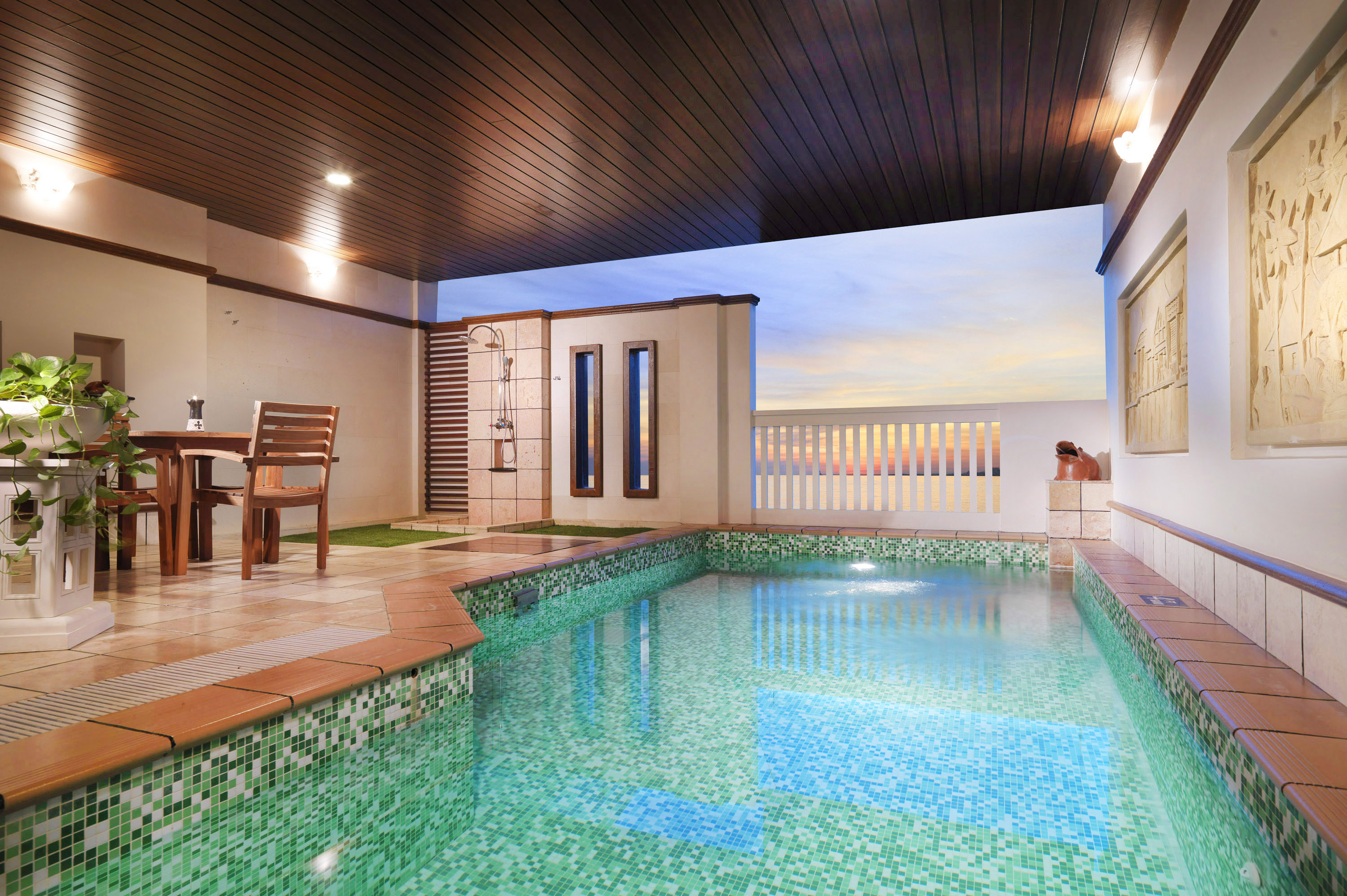 Private Pool in Grand Pool Villa at Grand Lexis Port Dickson