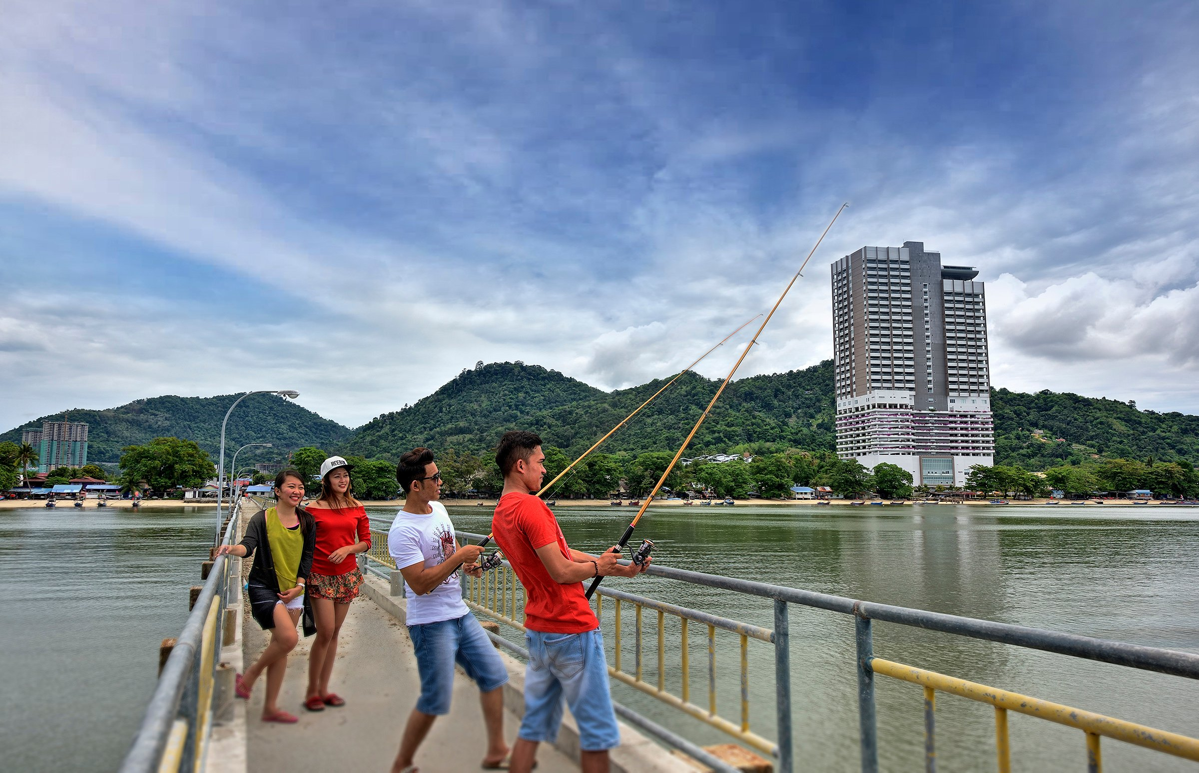 Fishing Activity Near Lexis Suites Penang