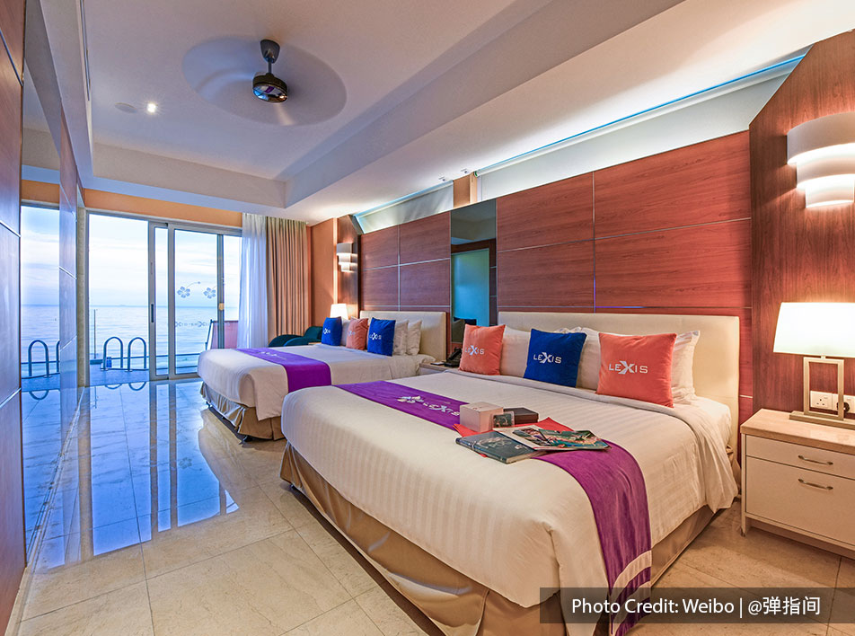 Comfortable and luxurious room for family vacations