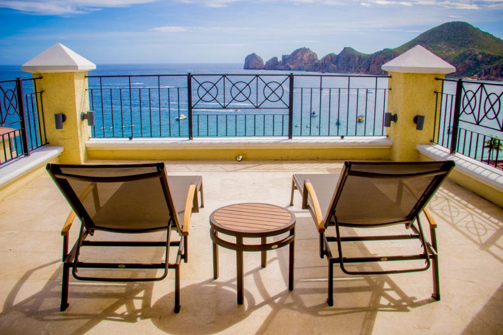 Views to the Arch, from a suite in Casa Dorada Los Cabos, Resort & Spa