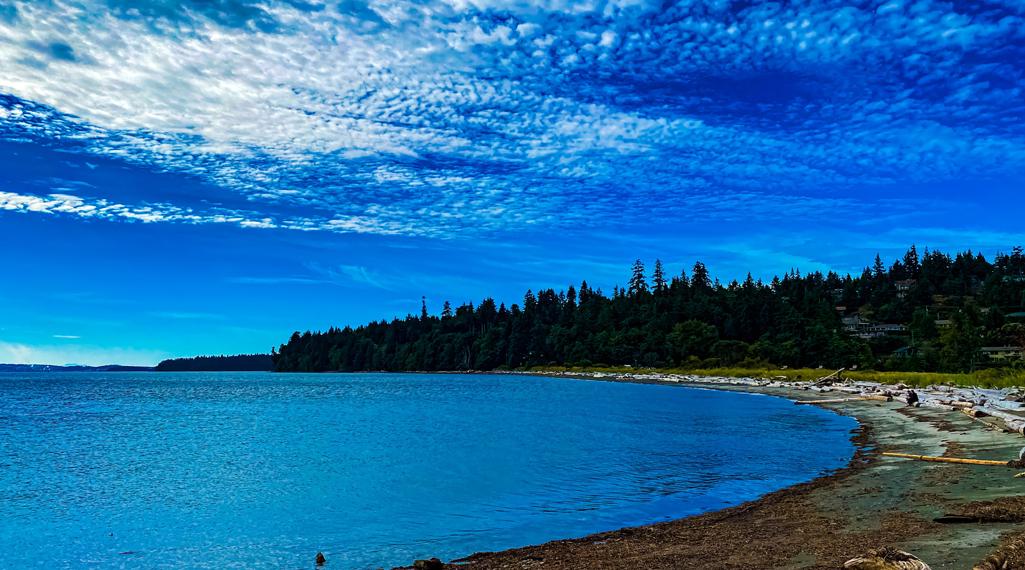 Piper's Lagoon shores in Nanaimo