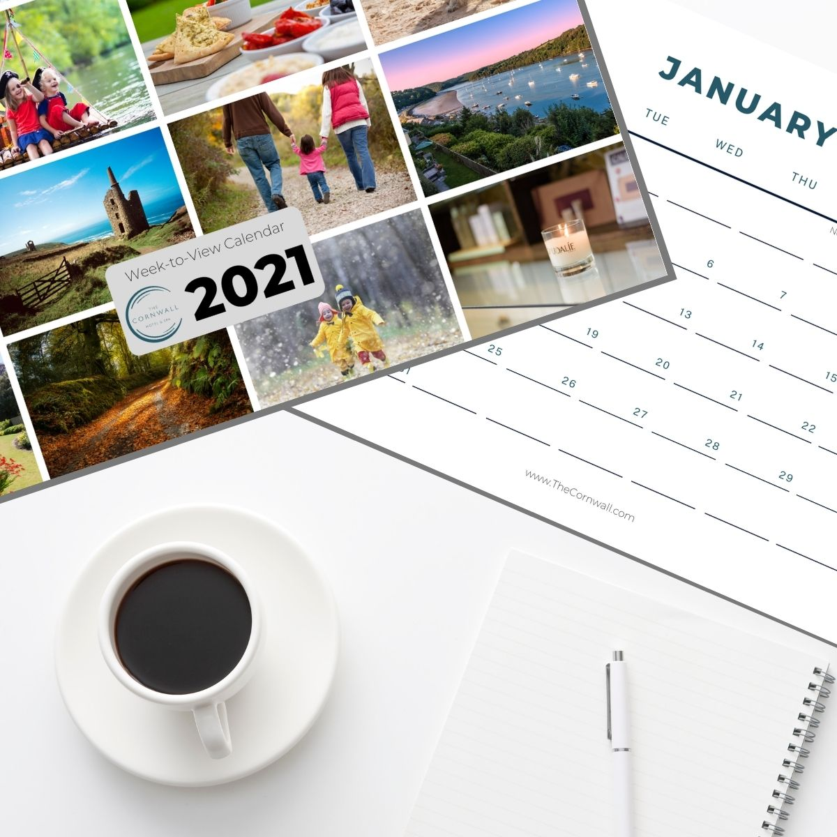 free 2021 calendar download month to view The Cornwall