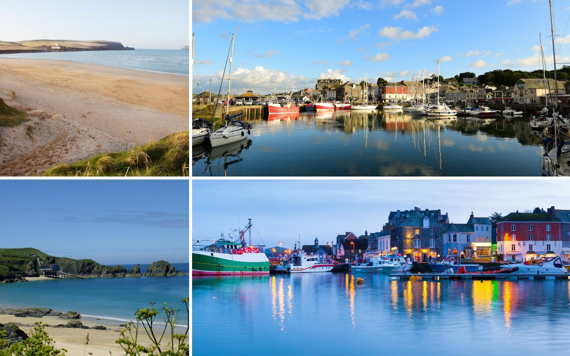 Padstow Cornwall montage