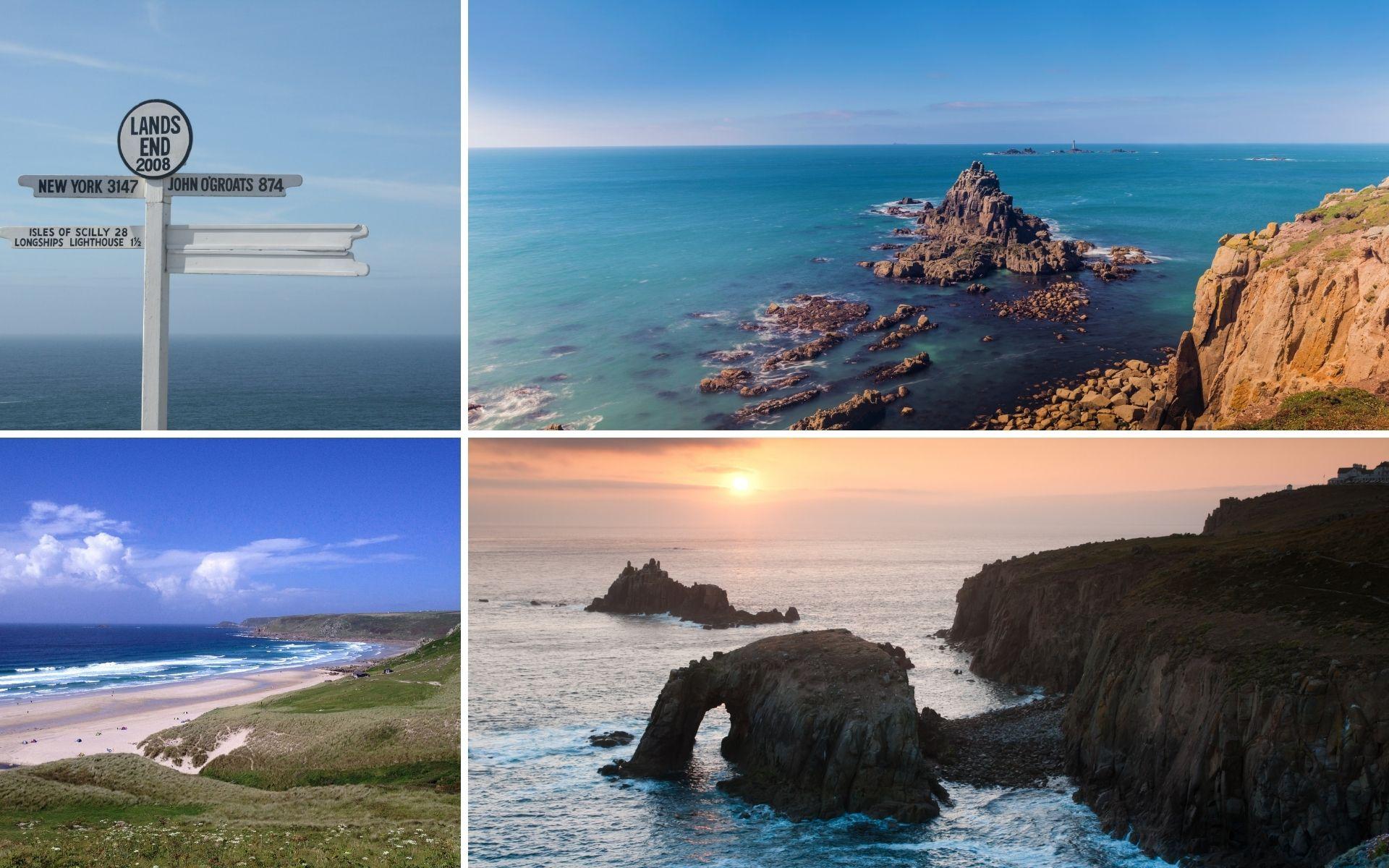 Land's End & Senne Cornwall