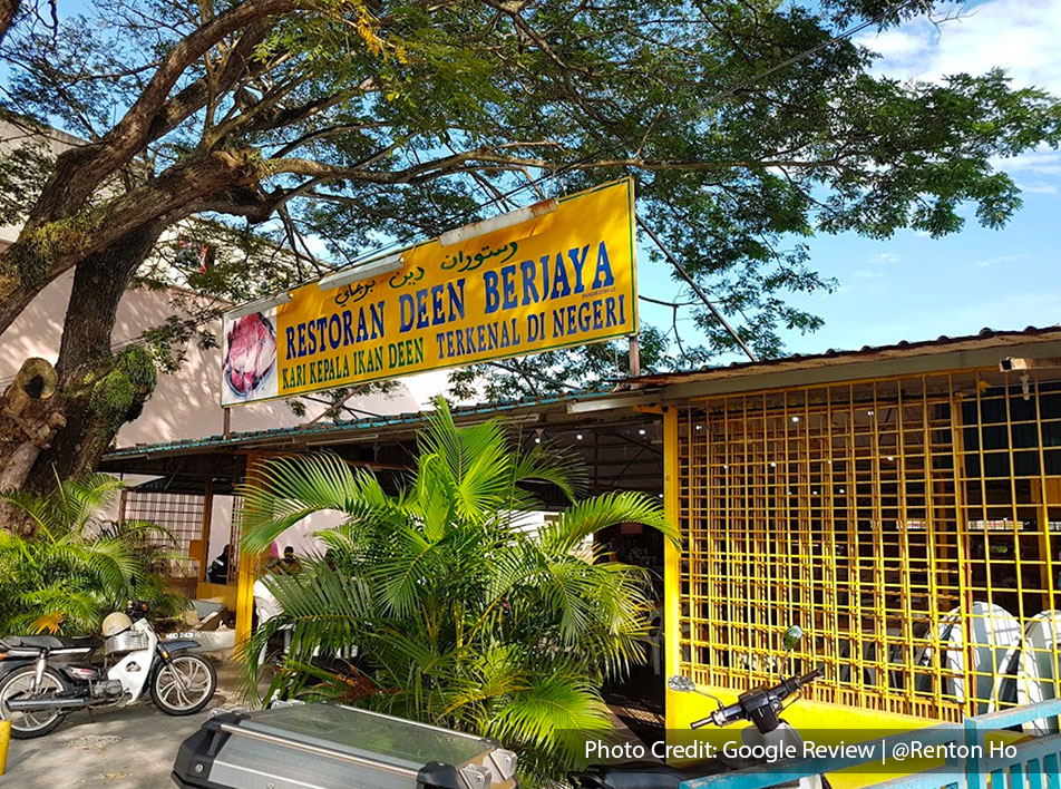 Deen's Fish Head Curry, one of the best halal restaurant near to Lexis Hibiscus Resort