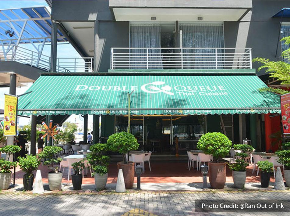 Double Queue Thai Cuisine, one of the best halal restaurant near to Lexis Hibiscus Resort