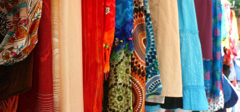 Street Vendor Fabric