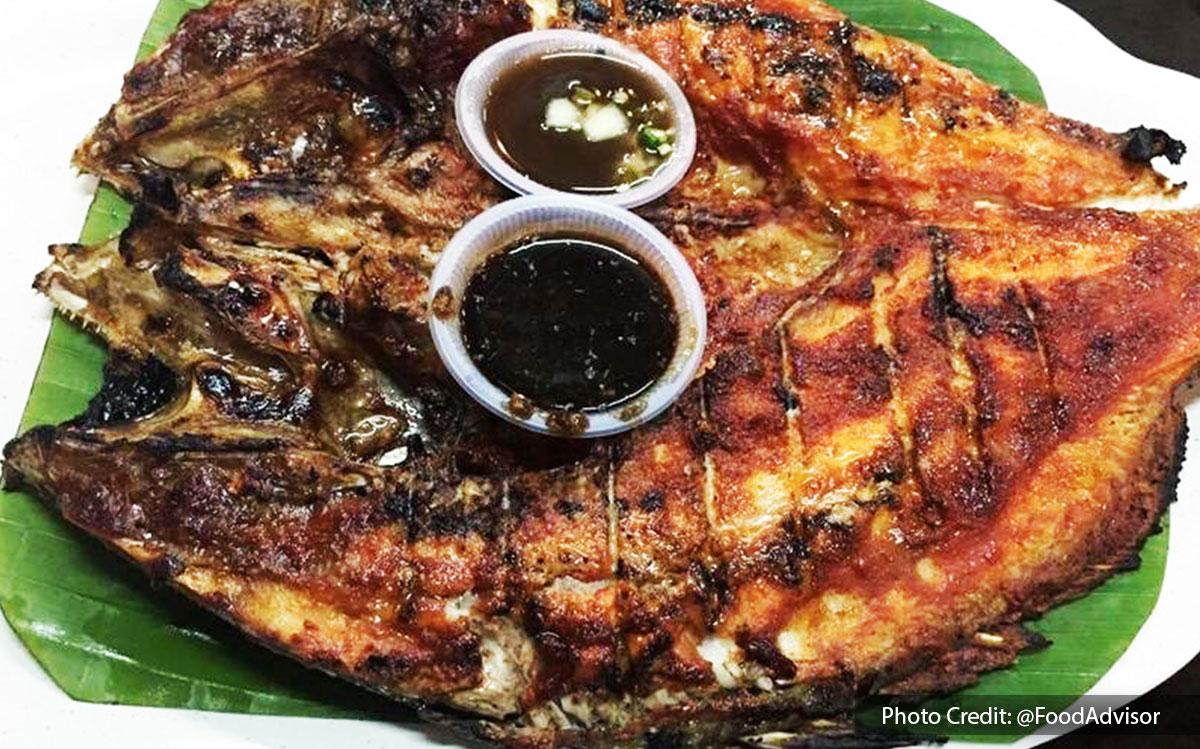 Grilled Fish from Restoran Seri Mesra Ikan Bakar & Seafood, halal restaurant near to Lexis Hibiscus Resort