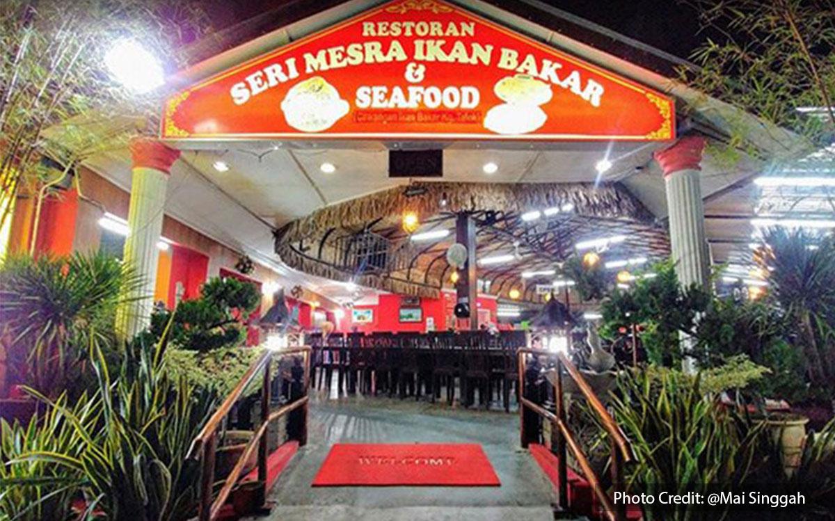 Restoran Seri Mesra Ikan Bakar & Seafood, one of the best halal restaurant near to Lexis Hibiscus Resort