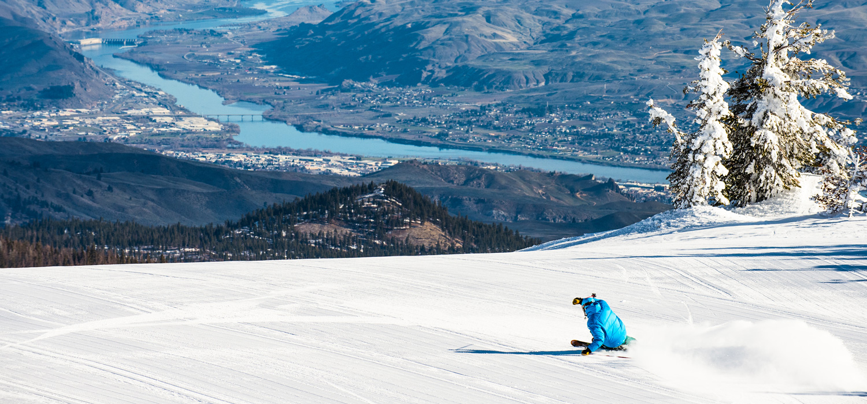 skier at Mission Ridge