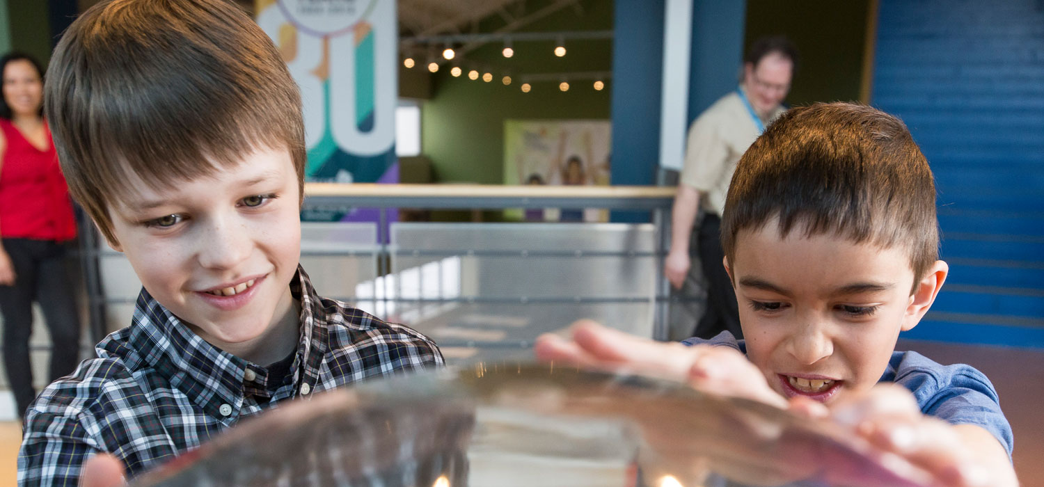 kids at the telus world of science