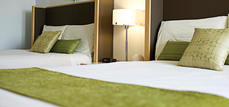 coast bastion hotel bed