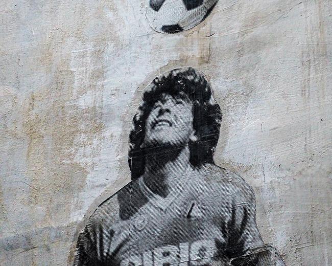 I murales di Maradona di Jorit Agoch e Mario Filardo