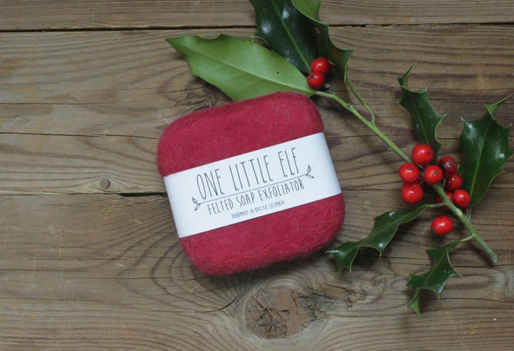 Felted Soap Exfoliator by One Little Elf