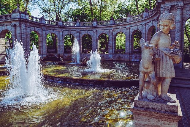 Märchenbrunnen im Park Friedrichshain