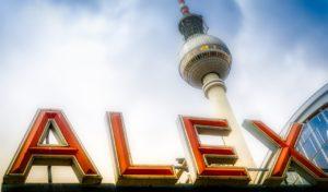 Alexanderplatz and TV tower