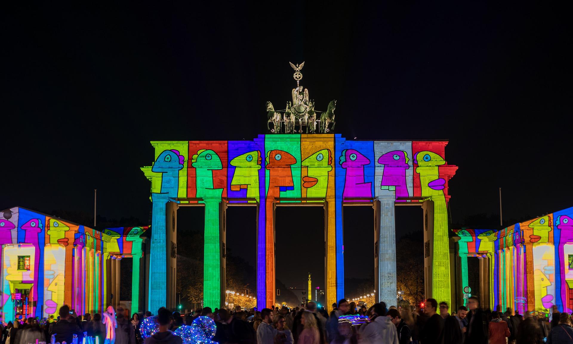 Brandenburger Tor, Festival of Lights Berlin