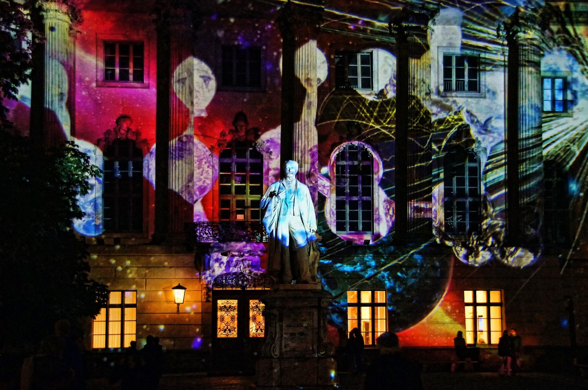 Beleuchtete Fassade, Festival of Lights Berlin