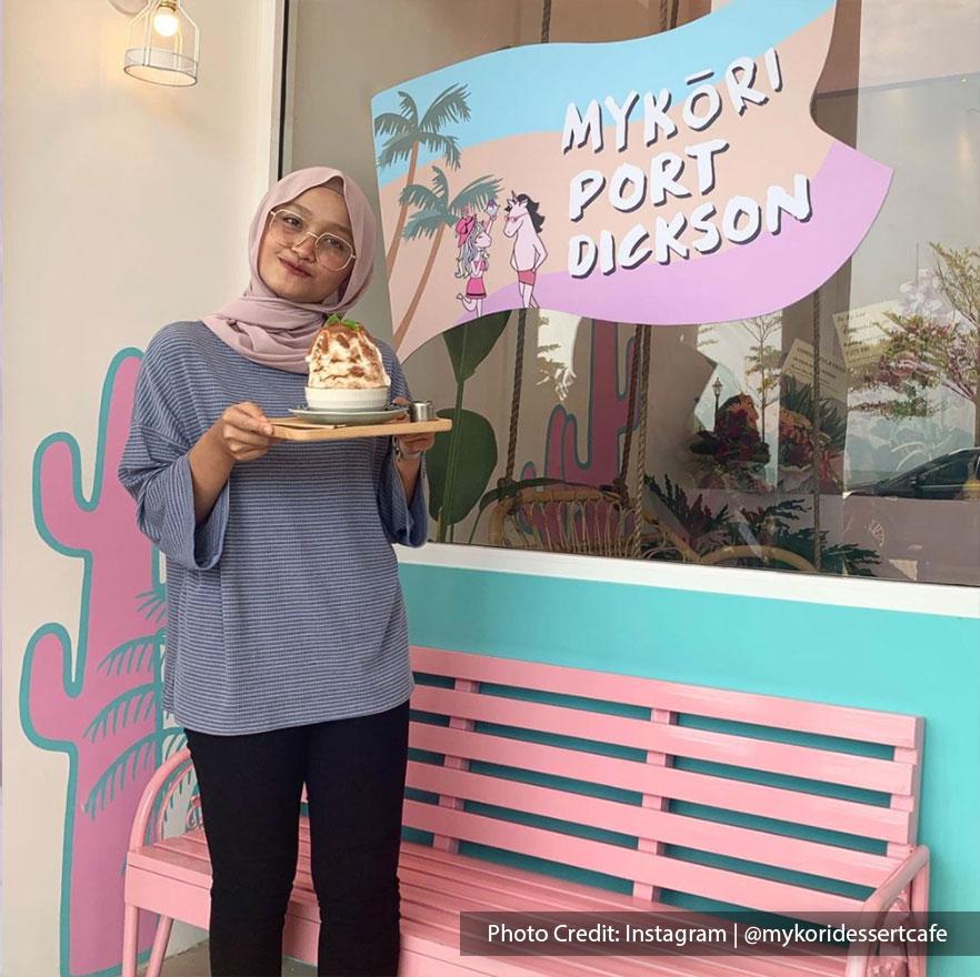 Mykori Dessert Cafe at Port Dickson