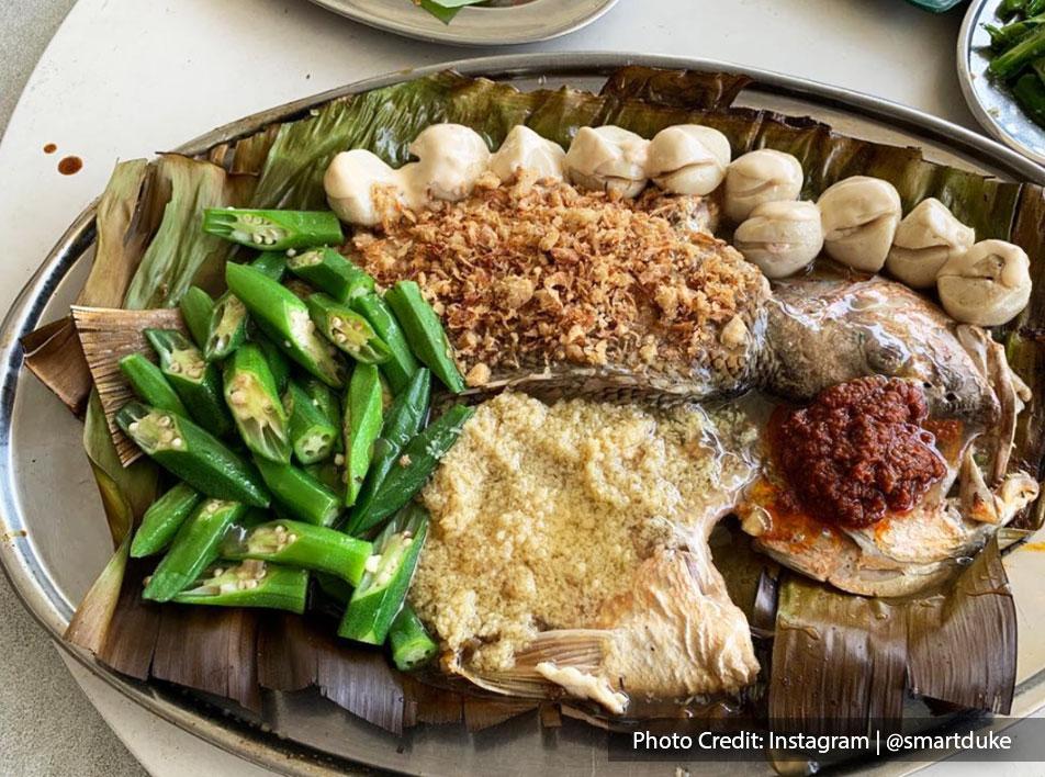 Gim Men Teppanyaki Menu - Three Flavour Fish   Port Dickson