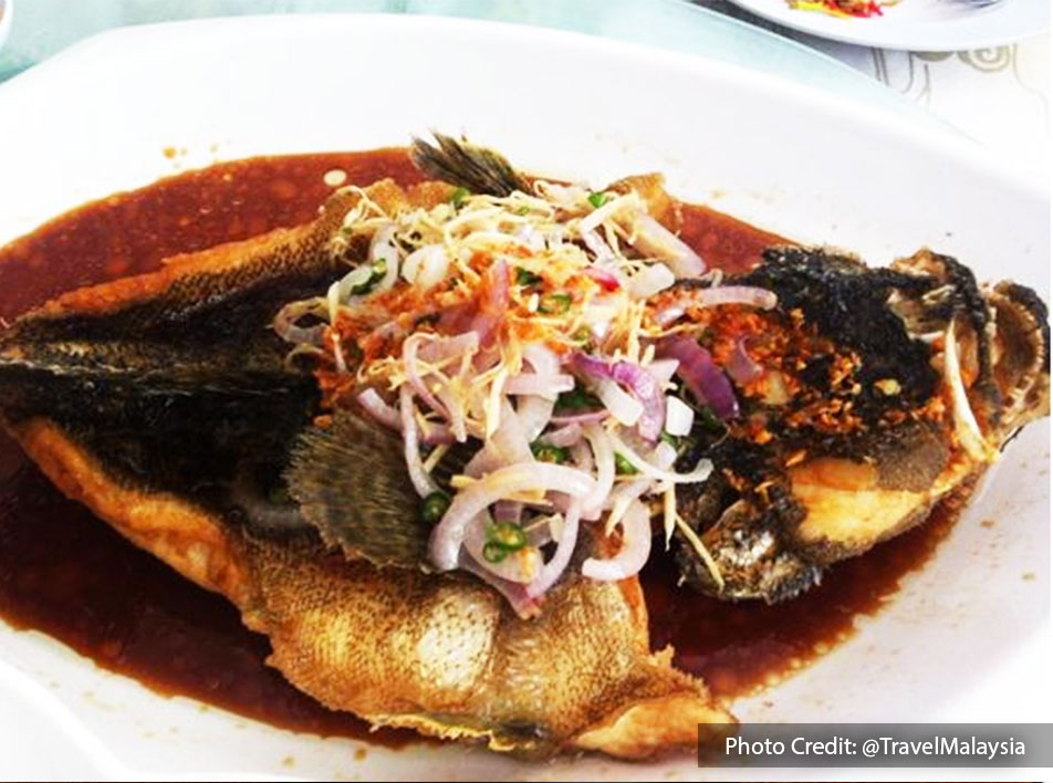 Restoran Chardin Seaview Seafood Village-Menu - Asam Pedas River Tilapia   Port Dickson