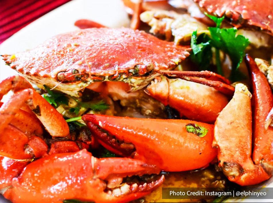 Weng Yin Seafood Village Menu - Butter Crab   Port Dickson