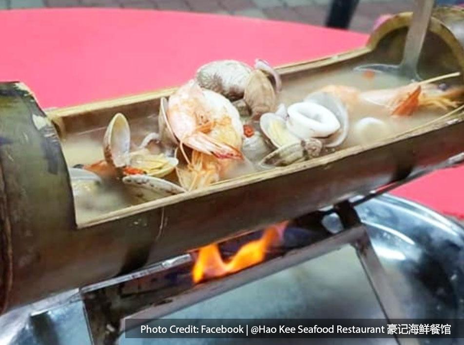 Hao Kee Seafood Restaurant-Menu - Seafood in Bamboo Bangkok   Port Dickson